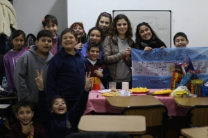 Three Volunteer's Experiences at the Teaching English School
